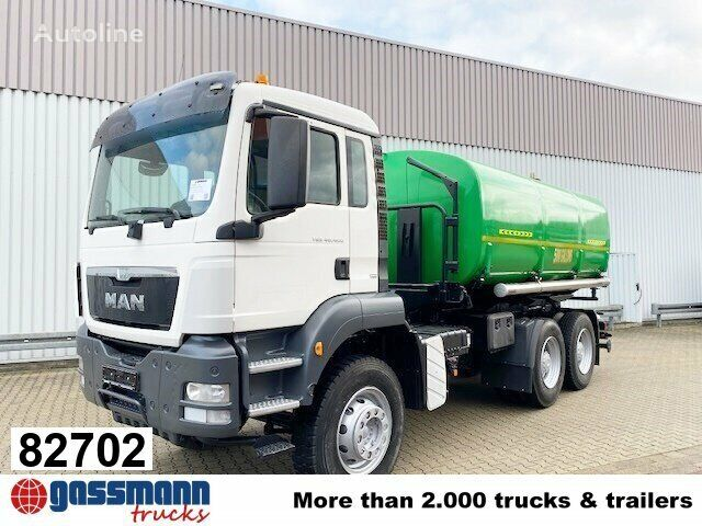 MAN TGS 40.400  tanker truck