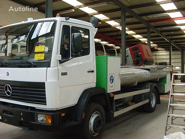 MERCEDES-BENZ 1117 - RVS/INOX Water Tank tanker truck