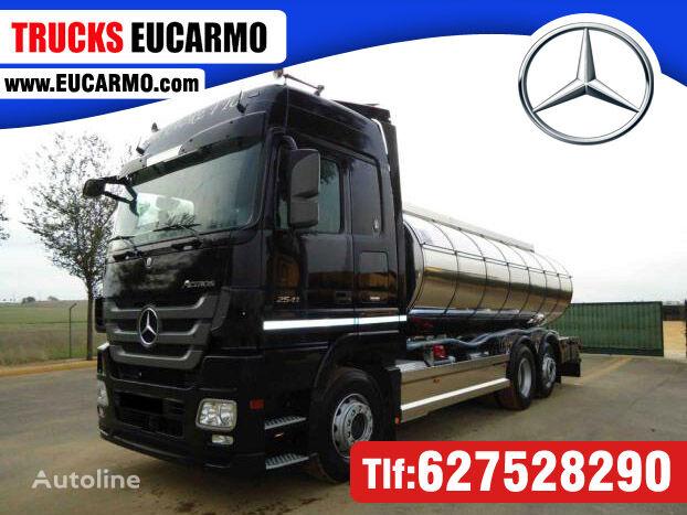MERCEDES-BENZ ACTROS 25 41 tanker truck