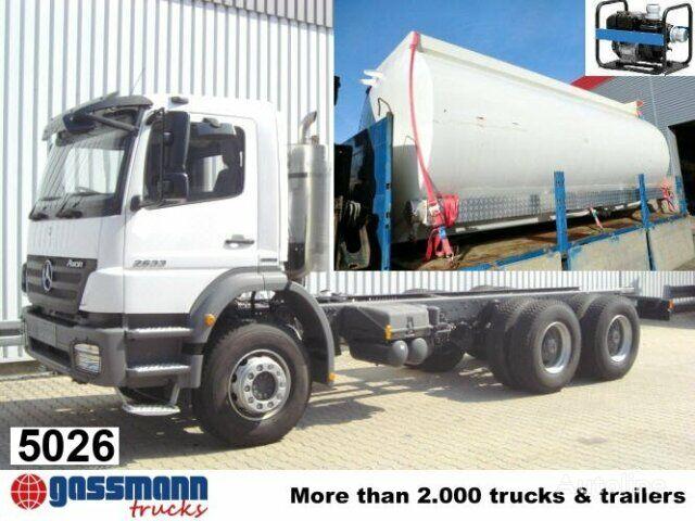 new MERCEDES-BENZ Axor / 2633 K/39 tanker truck