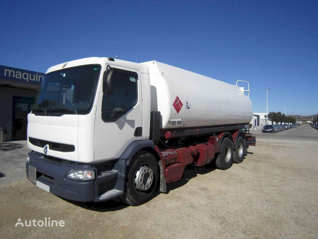 RENAULT 340.26+Ros Roca 3 depósitos  tanker truck