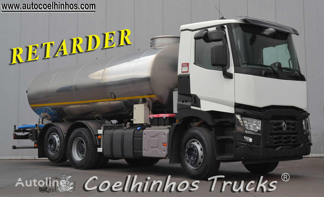 RENAULT C430 tanker truck