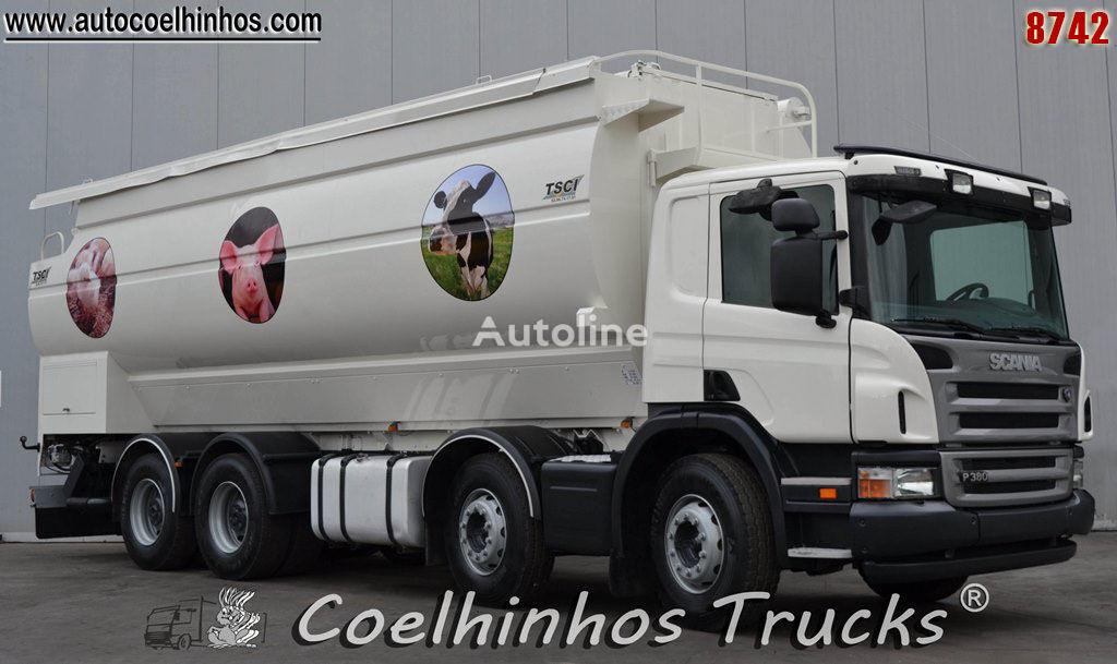 SCANIA P 380   tanker truck