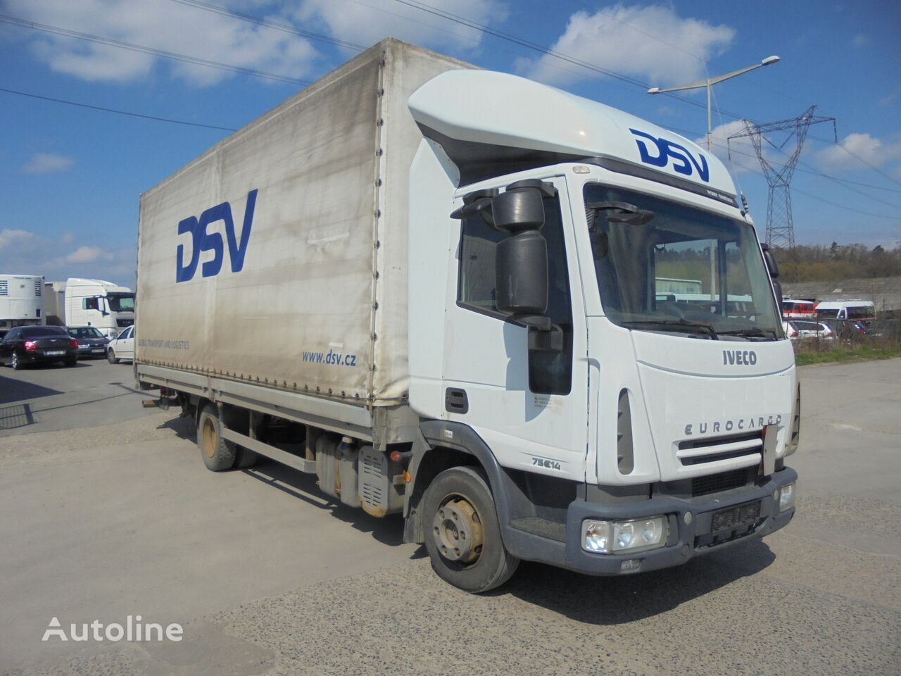 IVECO ML75E14 -Hydraulic front - Sleeping superstructure tilt truck