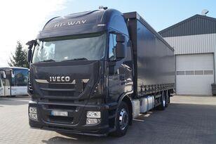IVECO Stralis Hi-Way 2014 tilt truck
