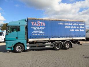 MAN TGA 26.440 6x2 MANUAL Euro4 tilt truck