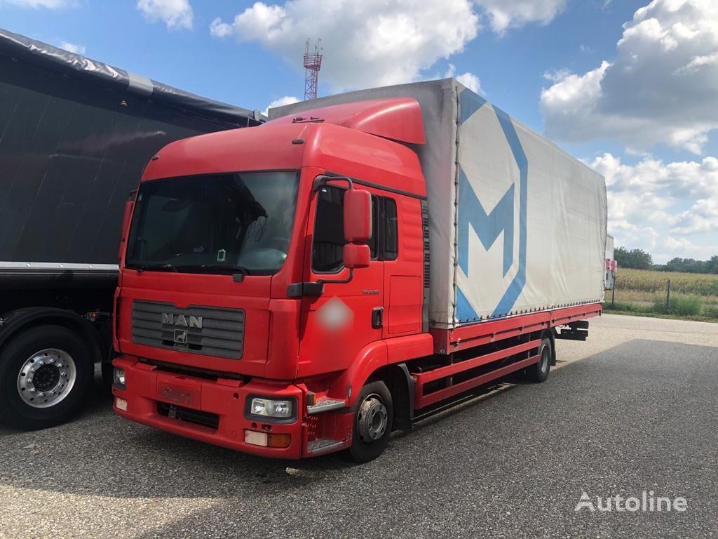 MAN TGL 8.180 BB, 7.6m Pritsche tilt truck