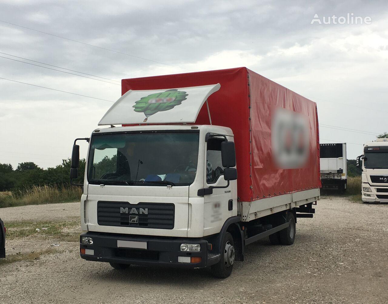 MAN TGL 8.180 BB, LBW, Neue Plane  tilt truck