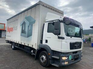 MAN TGM 15.250 P+P+HF tilt truck