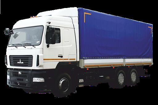 new MAZ 6312E8 tilt truck