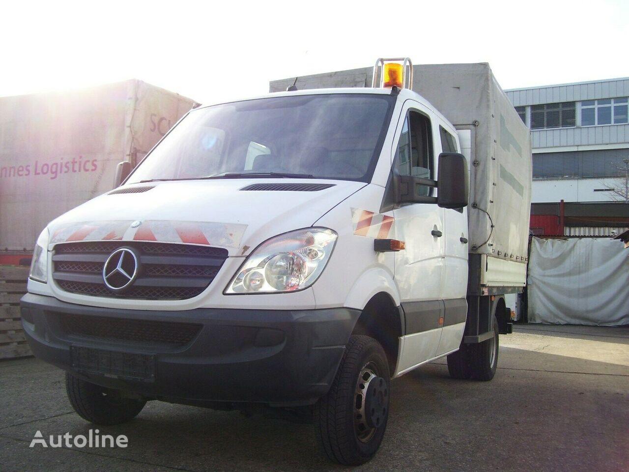 MERCEDES-BENZ Sprinter 515 cdi 4x4 DOKA P+P tilt truck