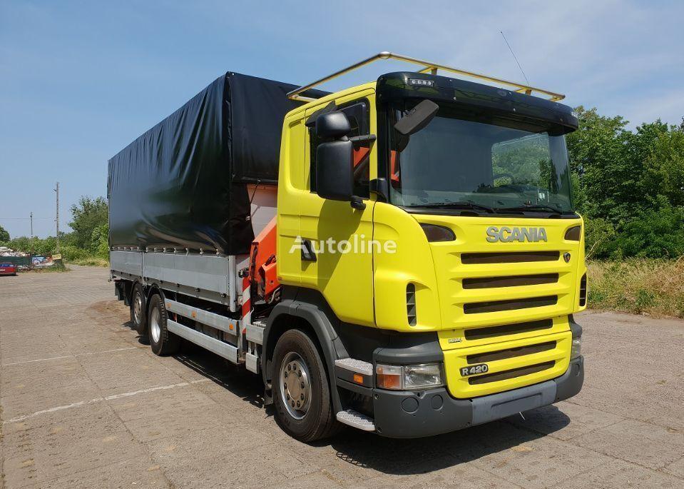 SCANIA R420 tilt truck