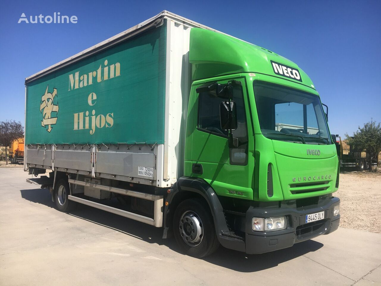IVECO 240. 12 TON. 17 PALETS tilt truck