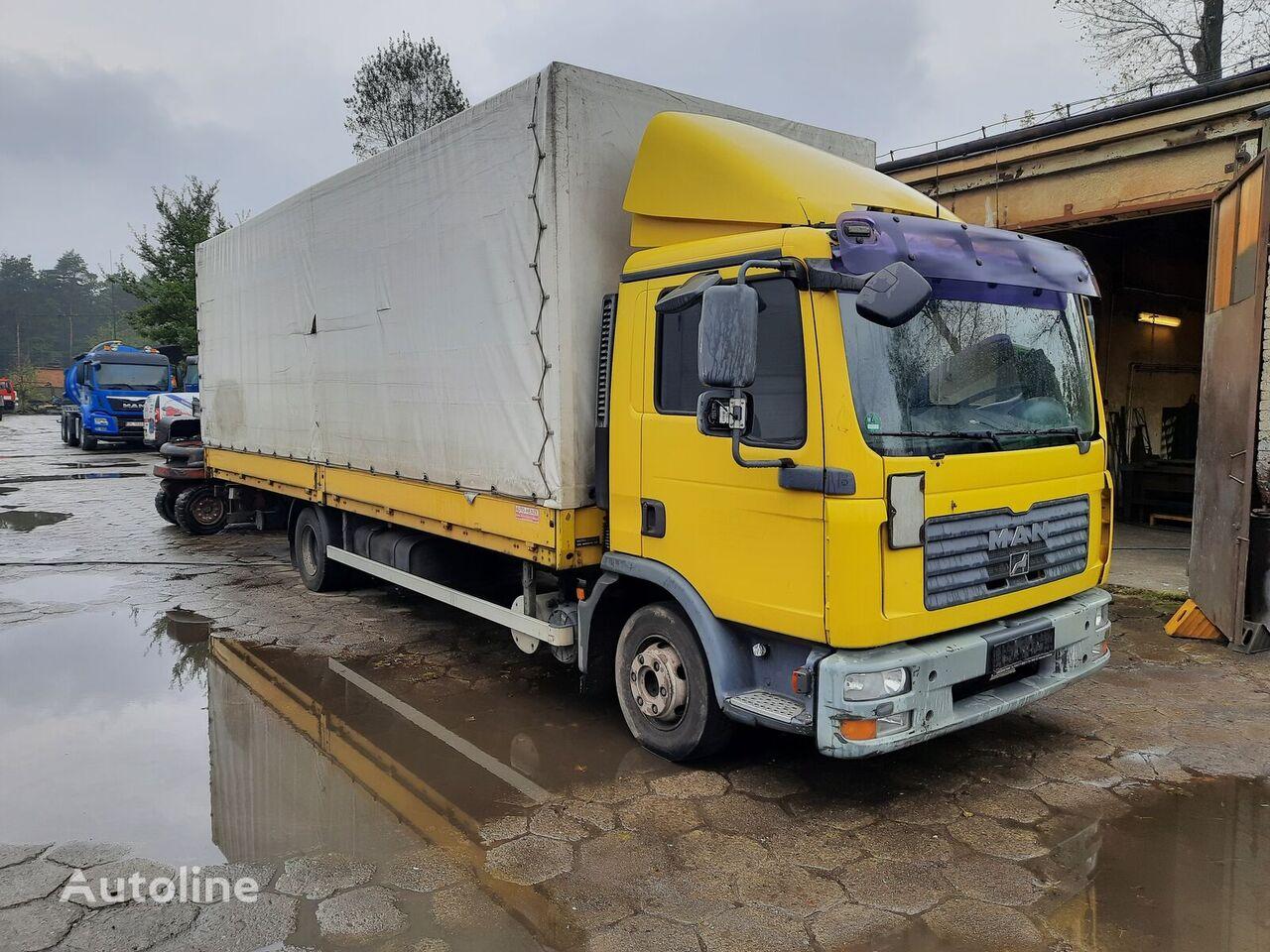 new MAN 12210 tilt truck