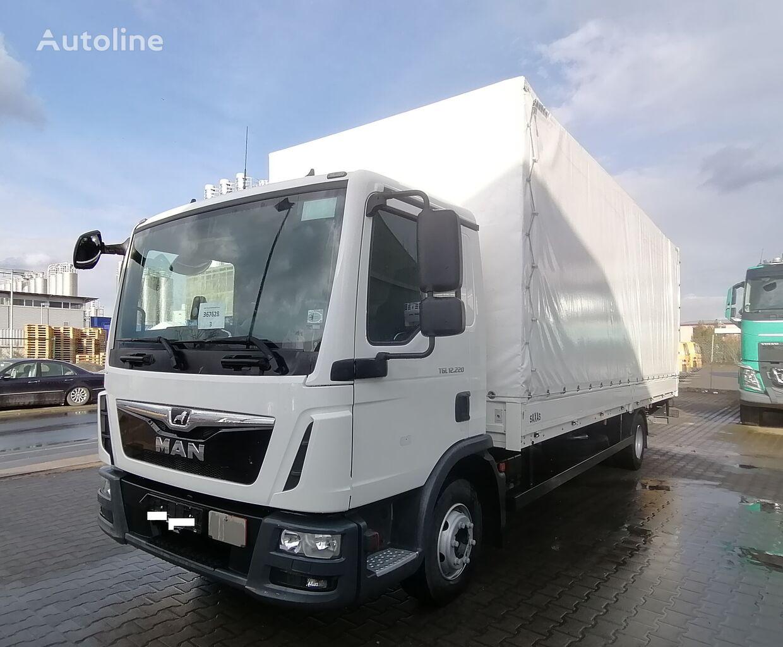 MAN TGL 12.220 Pritsche/Plane  tilt truck