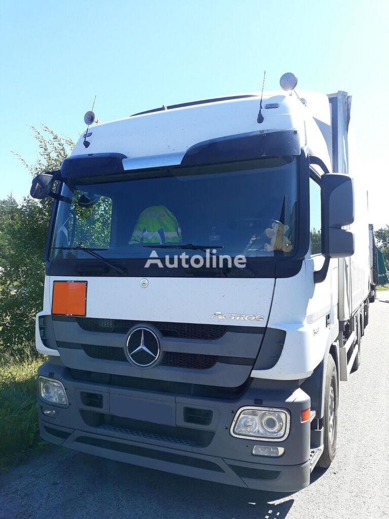 MERCEDES-BENZ Actros 2544L tilt truck + tilt trailer