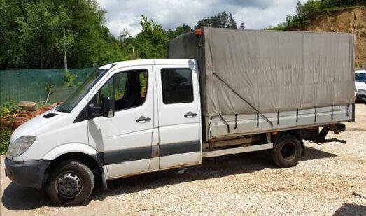 MERCEDES-BENZ sprinter 518  tilt truck