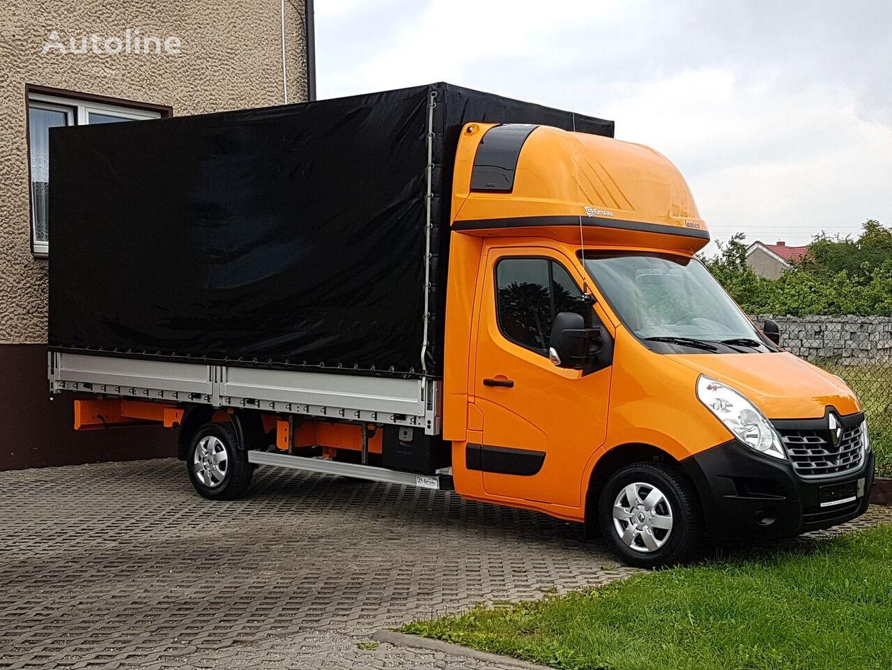 Super RENAULT Master tilt trucks for sale from Poland, buy tilt truck XY89