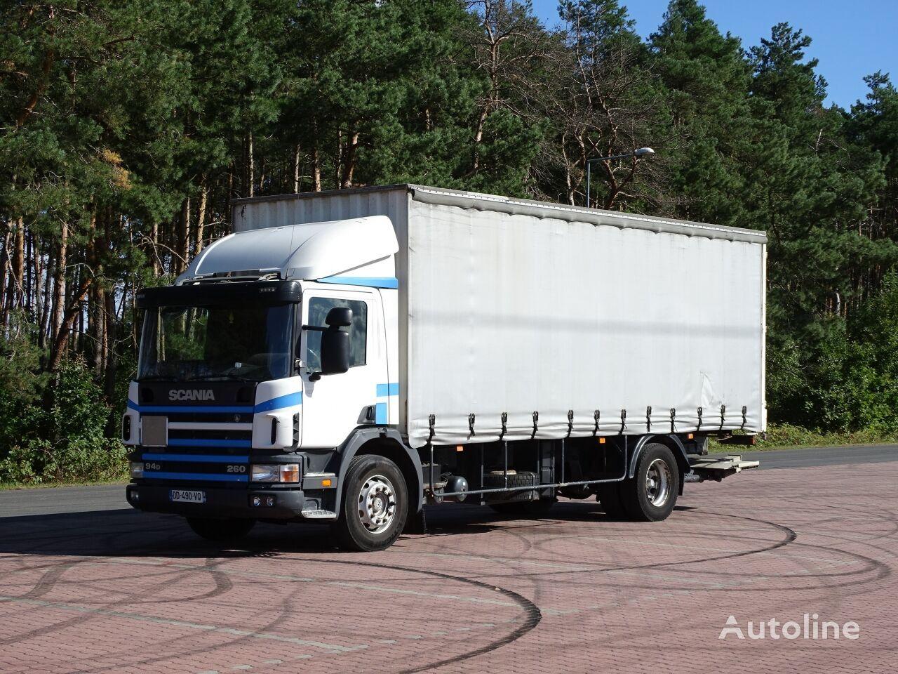 SCANIA 94 D tilt truck