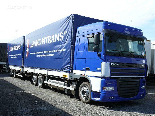 Lyubaya tilt truck + tilt trailer