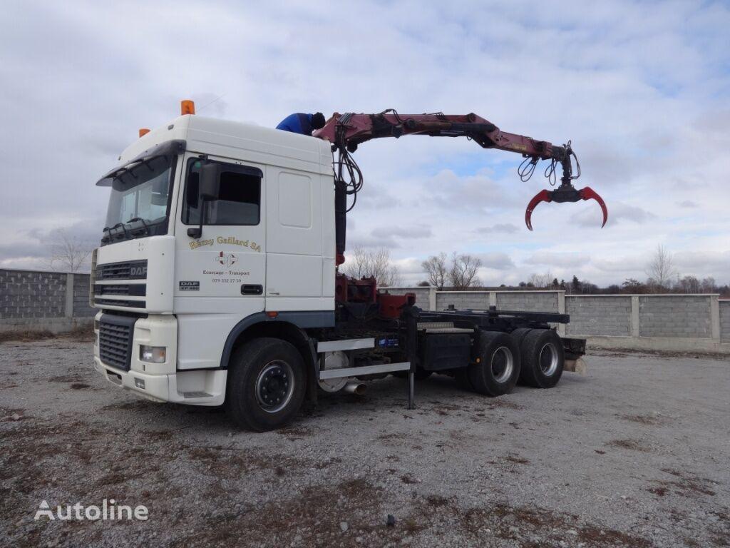 DAF XF95 480 6x4 timber truck