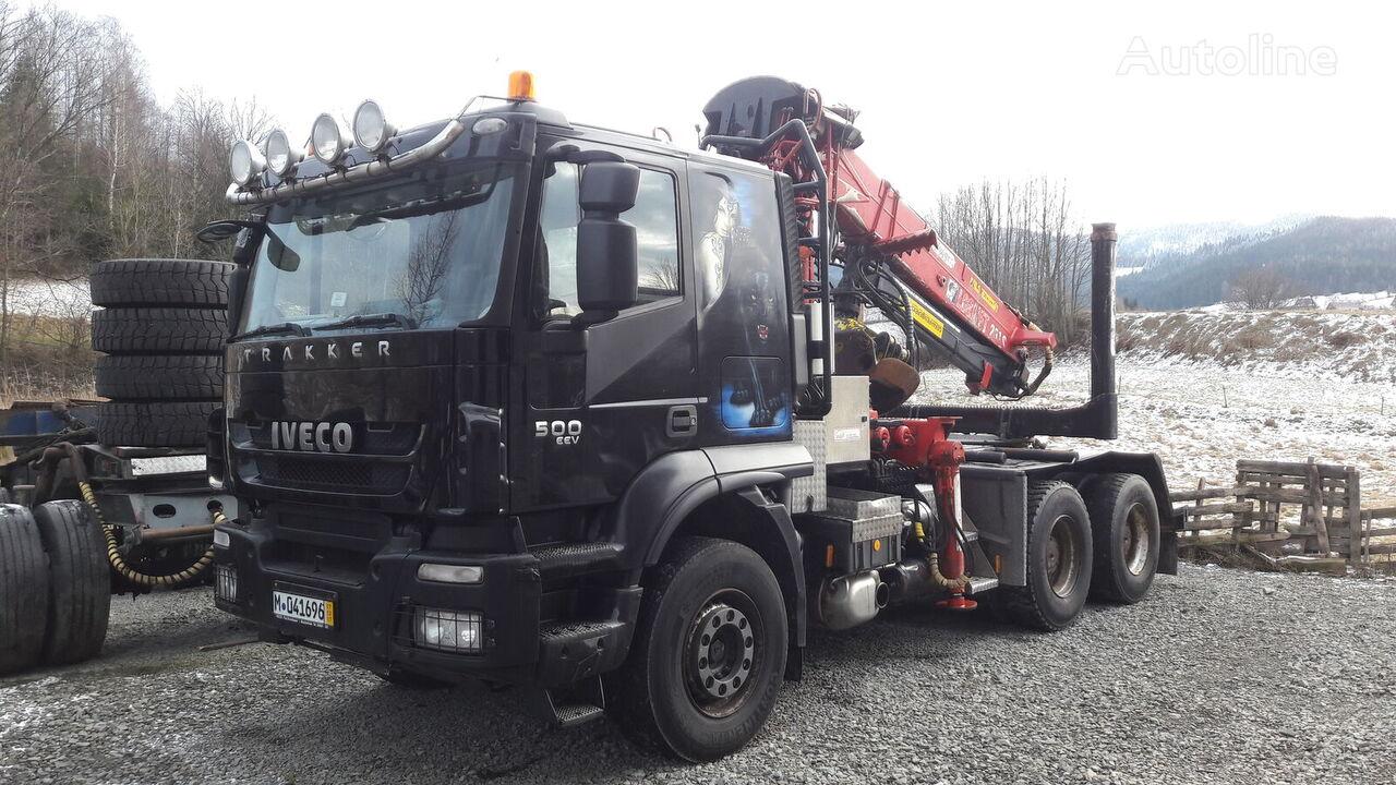 IVECO TRAKKER 500 Euro5  timber truck
