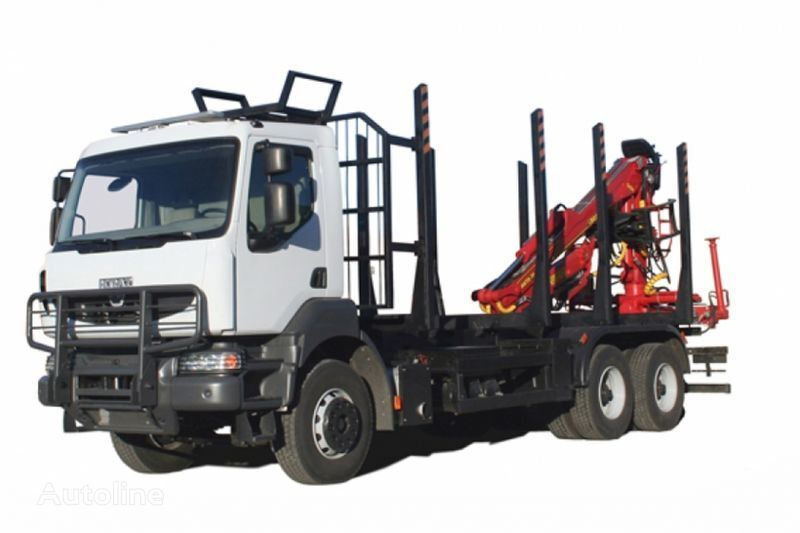 new KRAZ M19.2R  timber truck