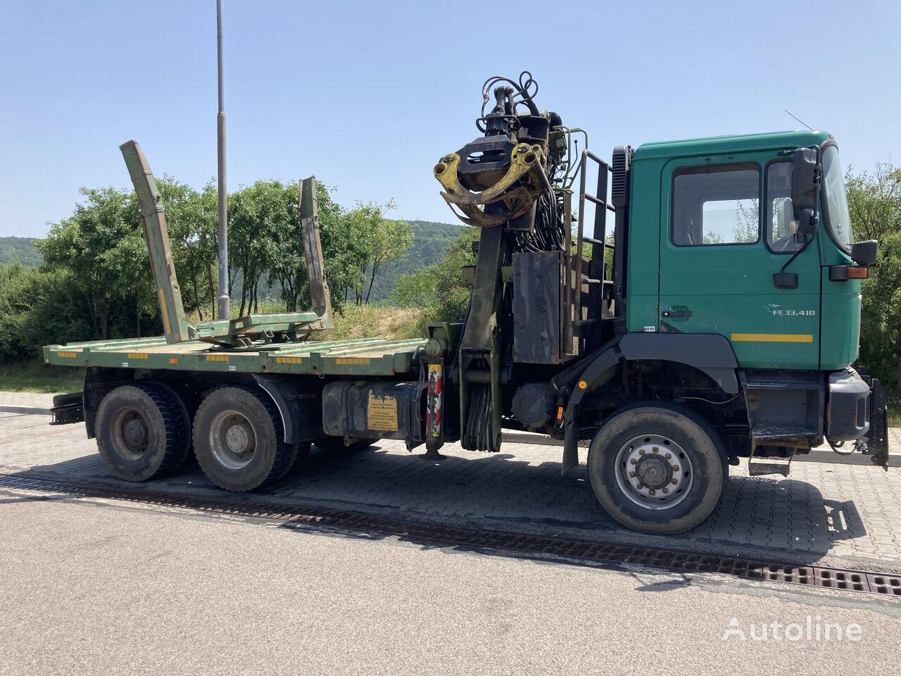 MAN F2000 33.410 !! One Kran !!! timber truck