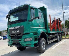 new MAN TGS 33.510  timber truck