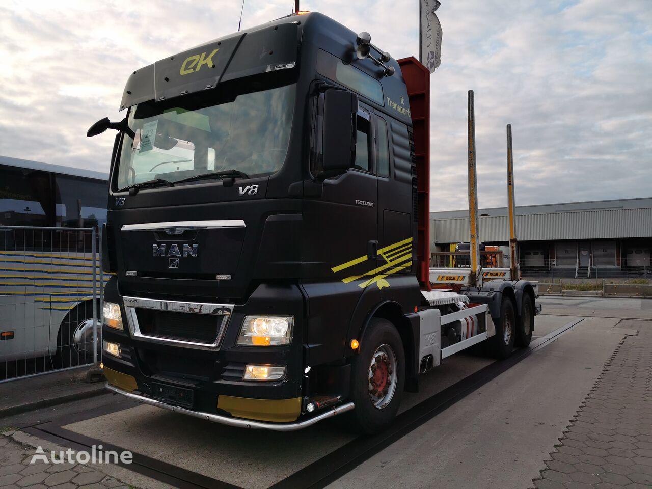MAN TGX 33.680  6x4BL Höglunds Timberbill Type:4651 timber truck