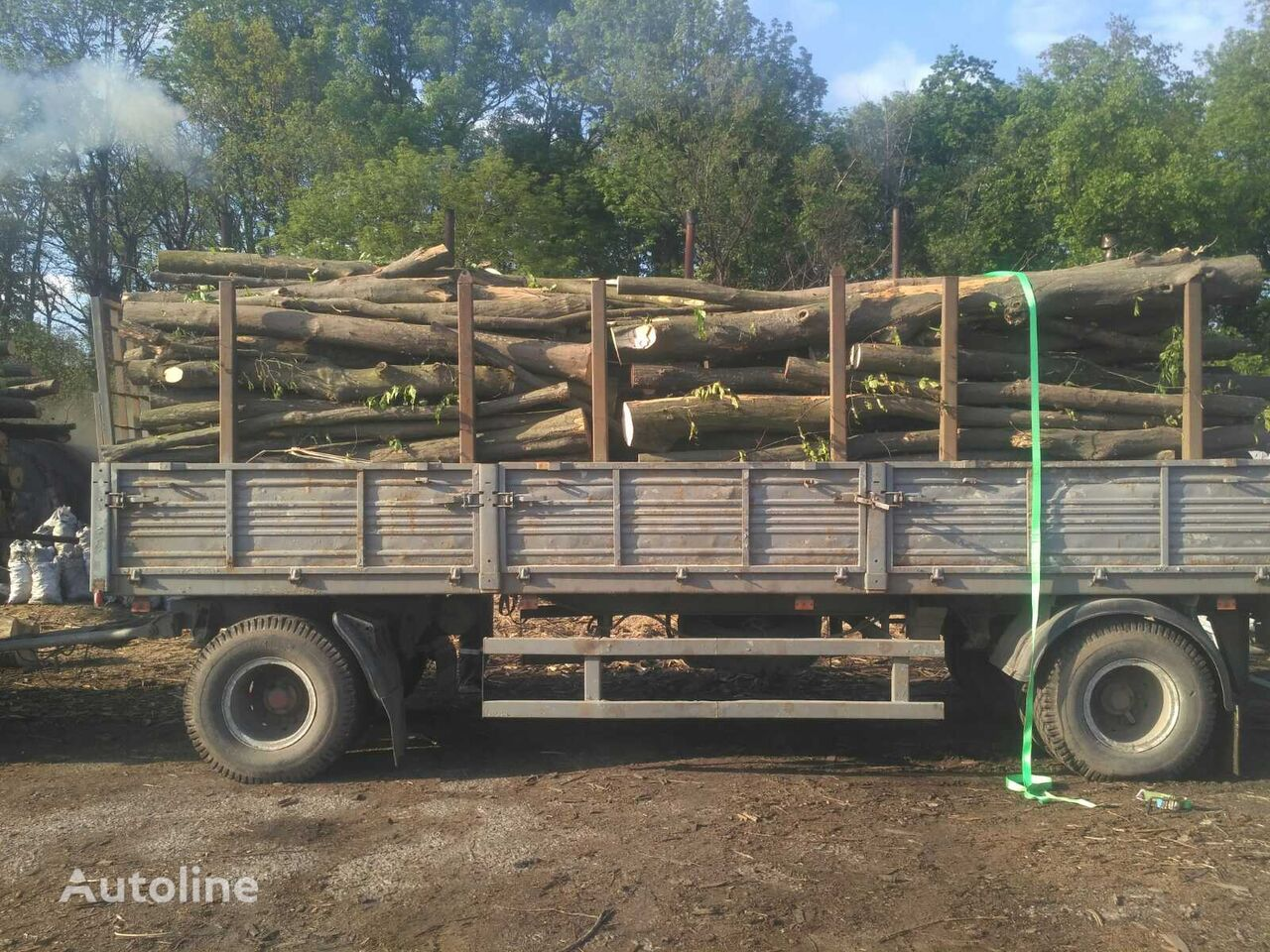 MAZ 642205 timber truck