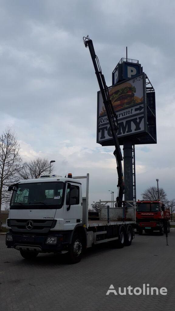 MERCEDES-BENZ 2636 / EU BREIF timber truck