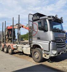 MERCEDES-BENZ 3263 8x4, big axles, no crane timber truck