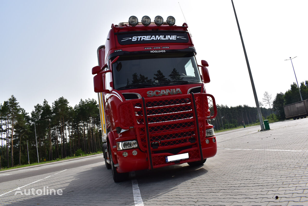 SCANIA R 730 V8 / wood / timber truck