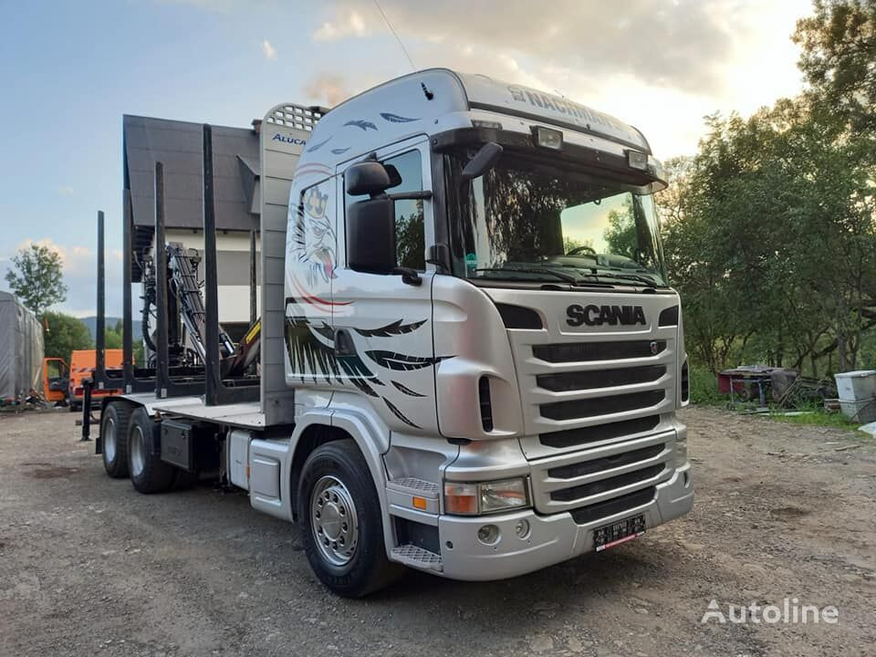 SCANIA R440 6x4 EURO5  timber truck