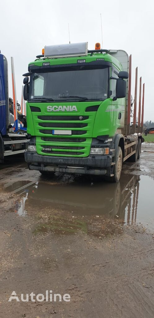 SCANIA R450 timber truck