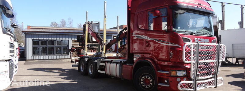 SCANIA R620 timber truck