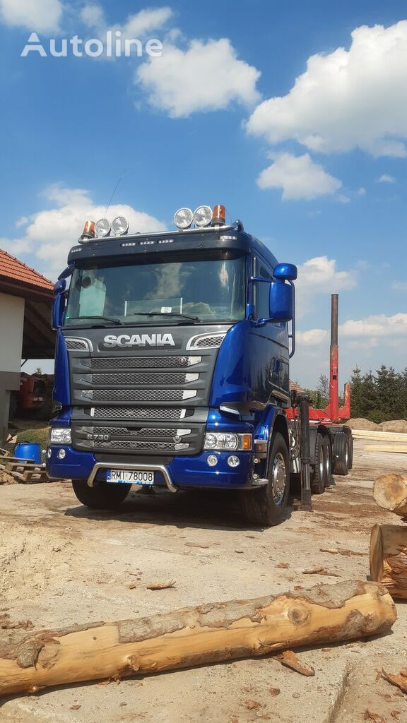 SCANIA R730 timber truck