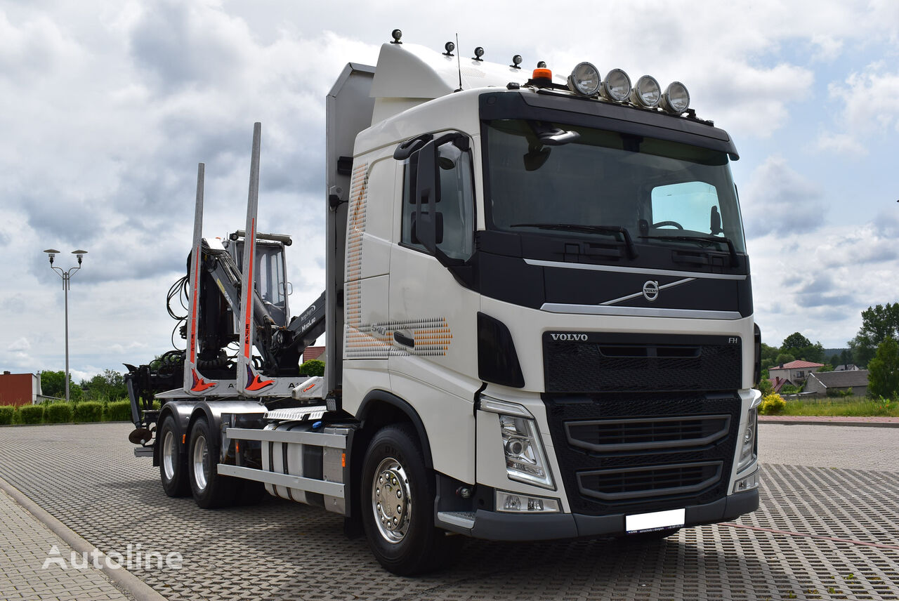 VOLVO FH 540 6X4 EURO 6 timber truck