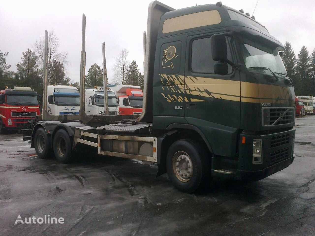 VOLVO FH540 6x4 timber truck