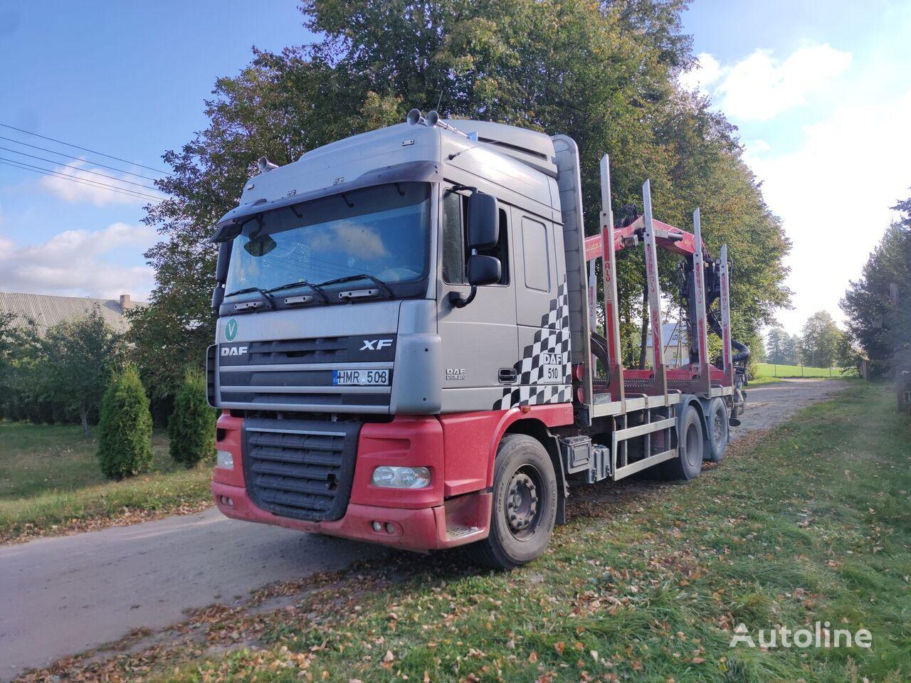 DAF XF 105.510 timber truck