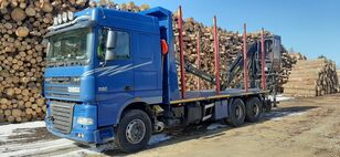 DAF XF 105 510 6X4 timber truck
