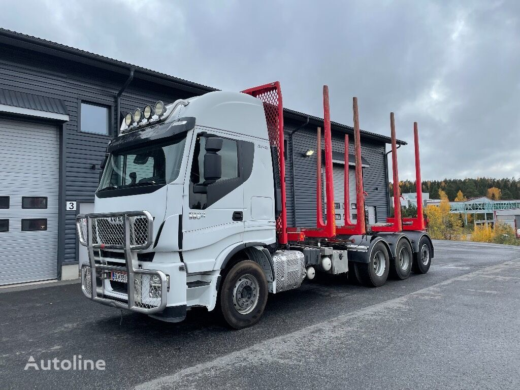 IVECO Stralis AS350S57 timber truck