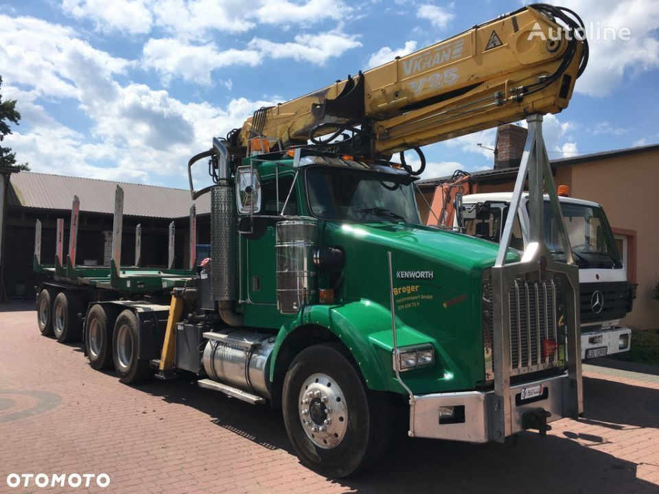 KENWORTH T800  timber truck