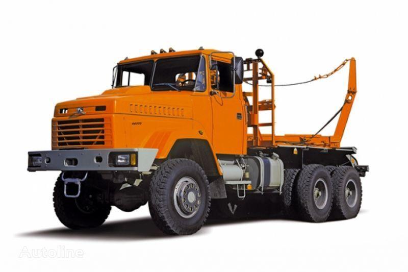 KRAZ 64372 tip 2  timber truck