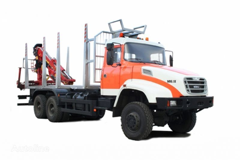 KRAZ M16.1H timber truck