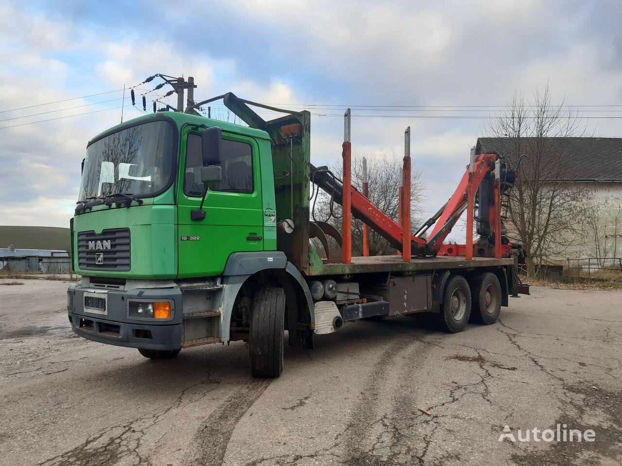 MAN F2000 timber truck
