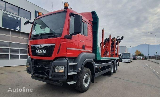 new MAN  TGS 33.510 6X6 BB timber truck
