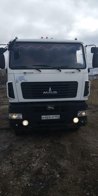 MAZ 6312A9 timber truck