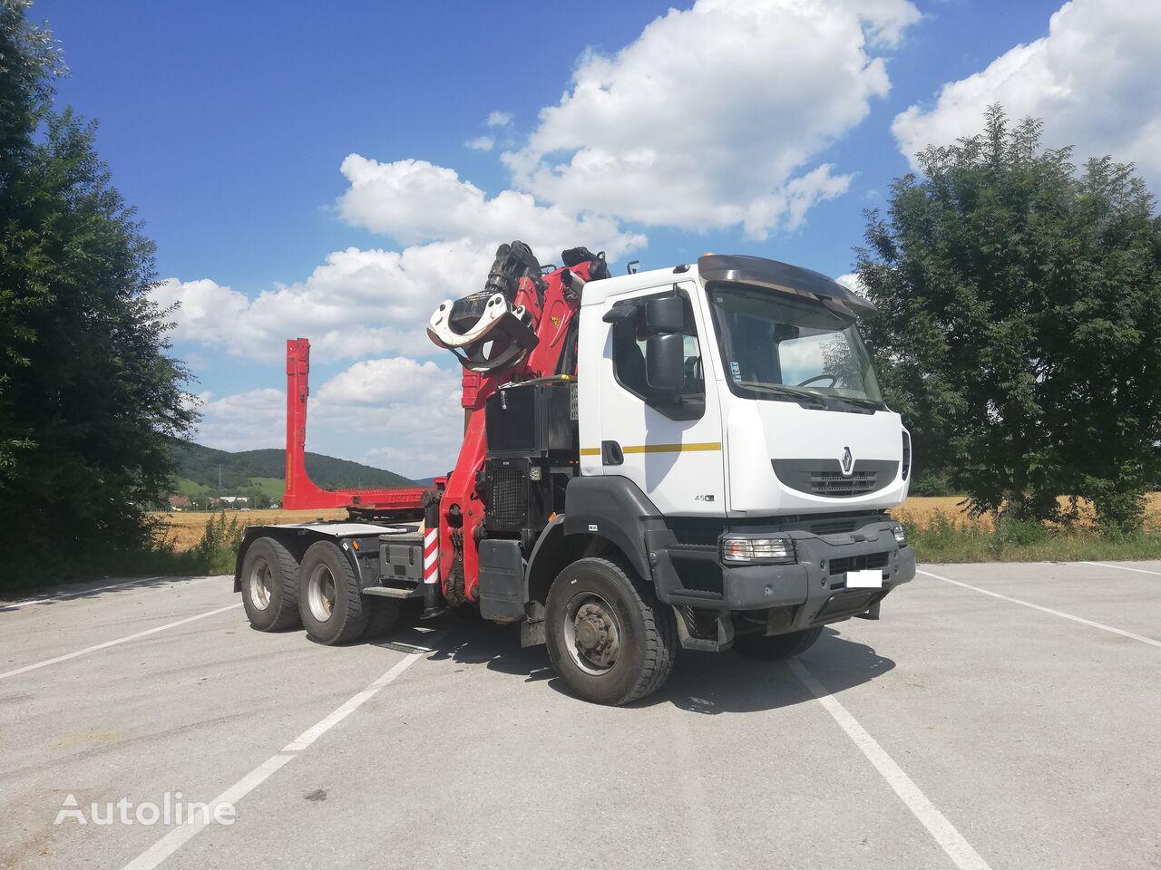 RENAULT Kerax 450 timber truck